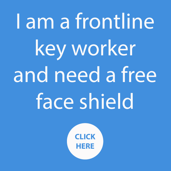 FREE Covid-19 Face Shield for all key workers